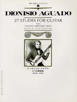 "AGUADO : 27 Etudes for Guitar from ""Nuevo Metodo 1843"""