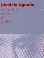 AGUADO : Selected Works for guitar