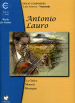 Lauro : Works for Guitar Vol.08