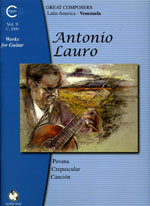 Lauro : Works for Guitar Vol.09