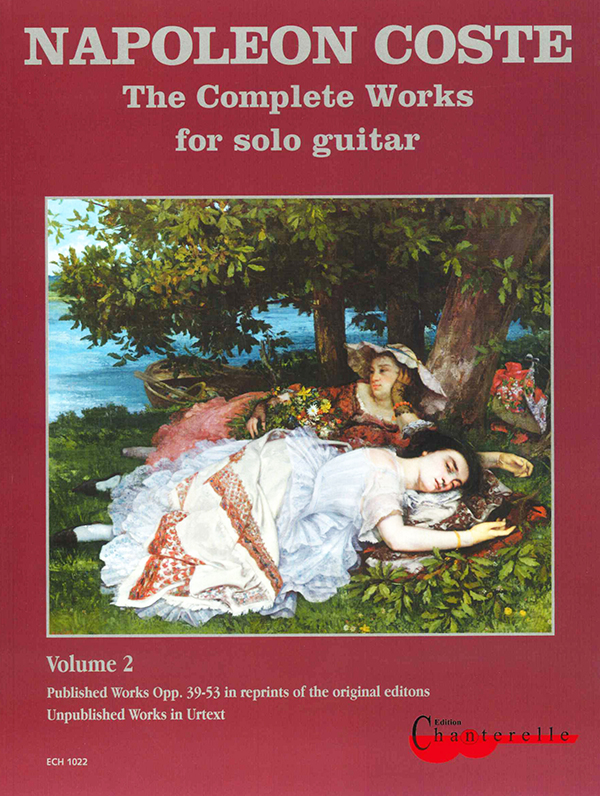 Coste : Complete Works for solo guitar Vol.2