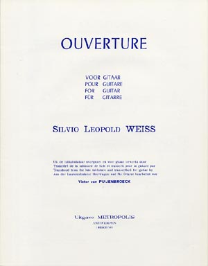 Weiss : Ouverture