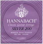 HANNABACH/Silver 200 Medium/High Tension (SET)