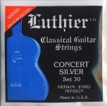 LUTHIER/Concert Silver Medium/Hard Tension (SET)