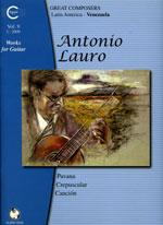 【楽譜】アントニオ・ラウロ全集第9巻:3つの小品[ディアス校訂]