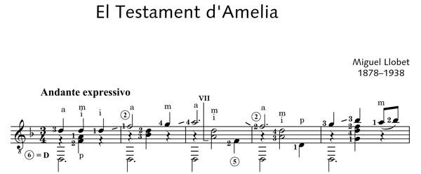 PDF楽譜】リョベート:アメリア...