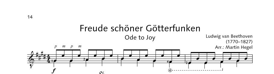 ED21908 21493 Beethoven Ludwig van Ode to Joy from: Symphony No.