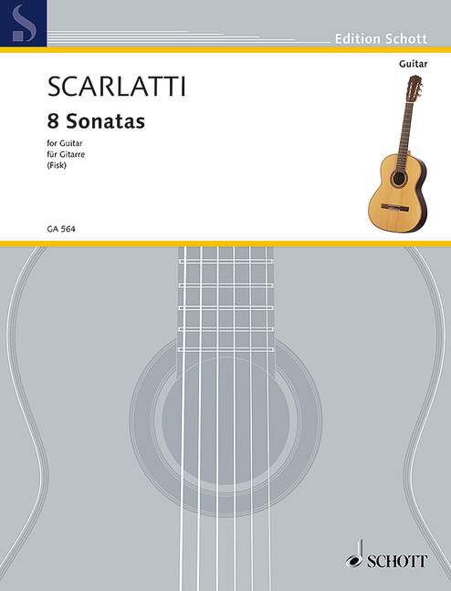 GA564 16194 Scarlatti, Domenico Sonata G major K. 14