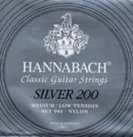 HANNABACH/Silver 200 Medium/Low Tension (SET)