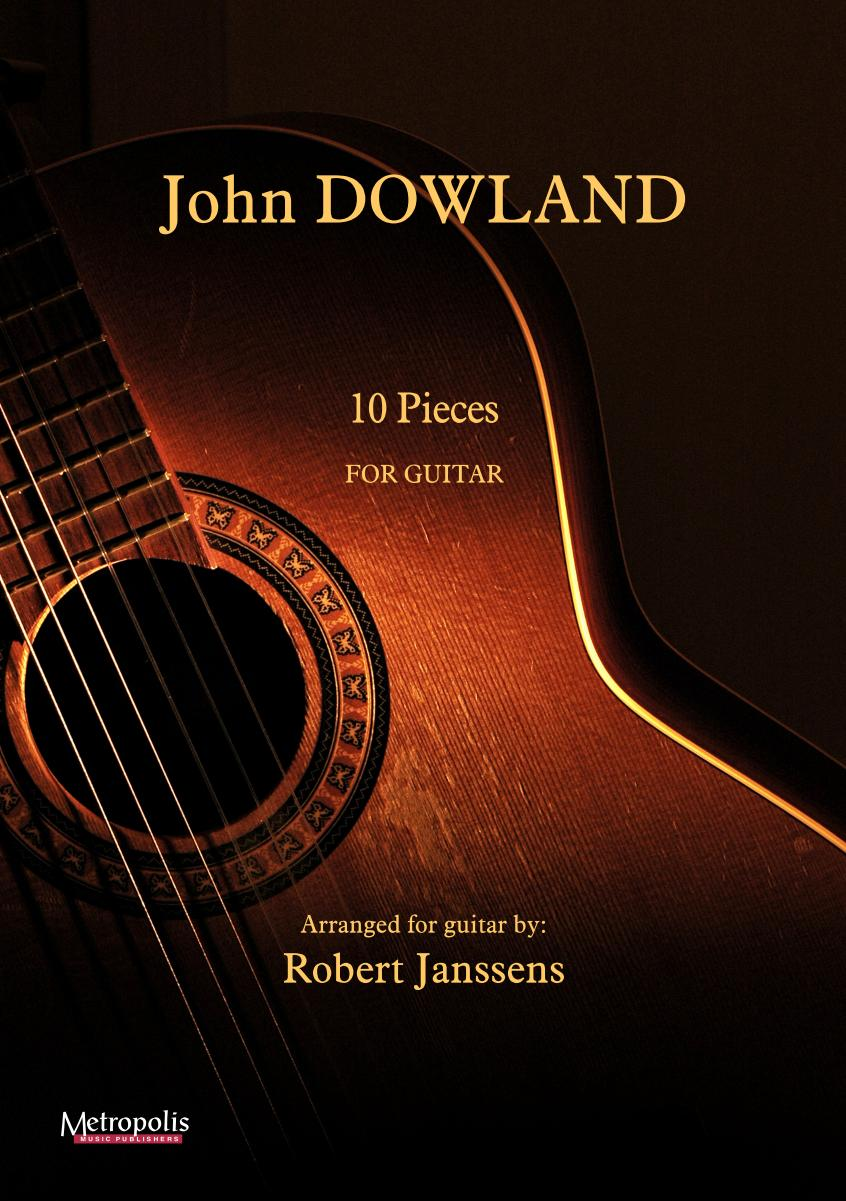 EM14713 Dowland John 10 Pieces for Guitar
