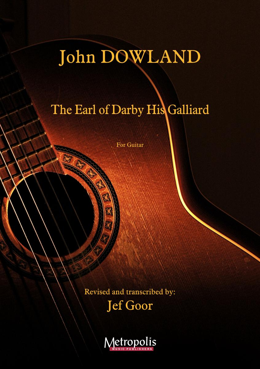 EM4726 Dowland John The Earl of Darby his Galliard